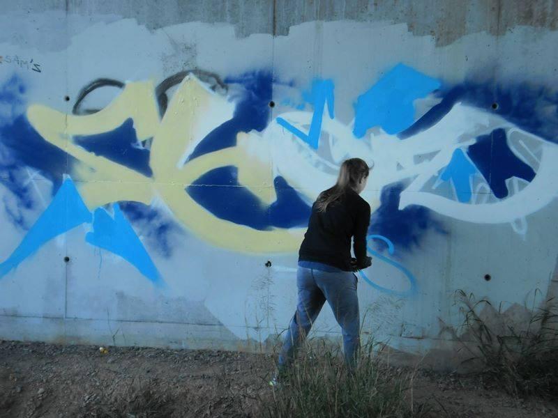 Mon premier graffiti show1