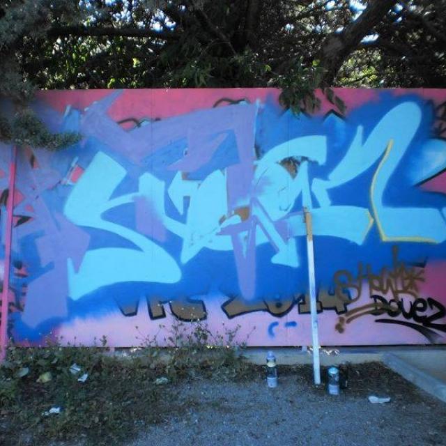 Mon deuxième graffiti
