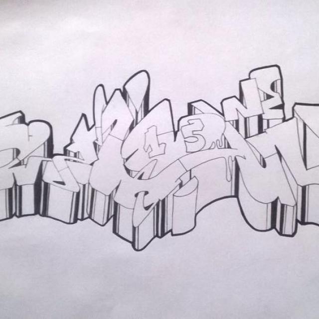 Show1 graffiti old school