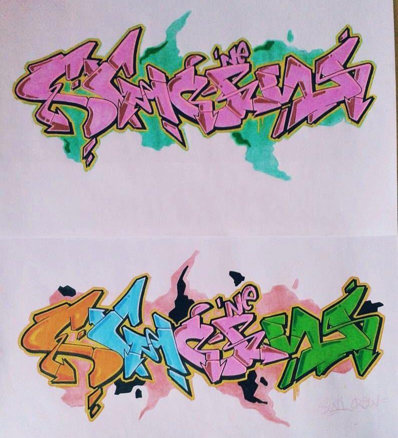 Show1 graffiti color
