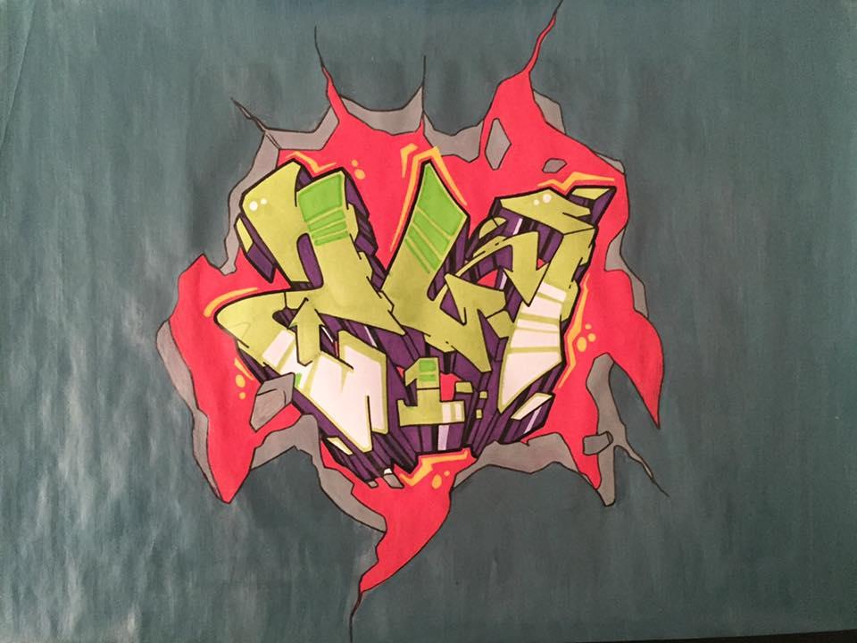 Sw1 wall graffiti