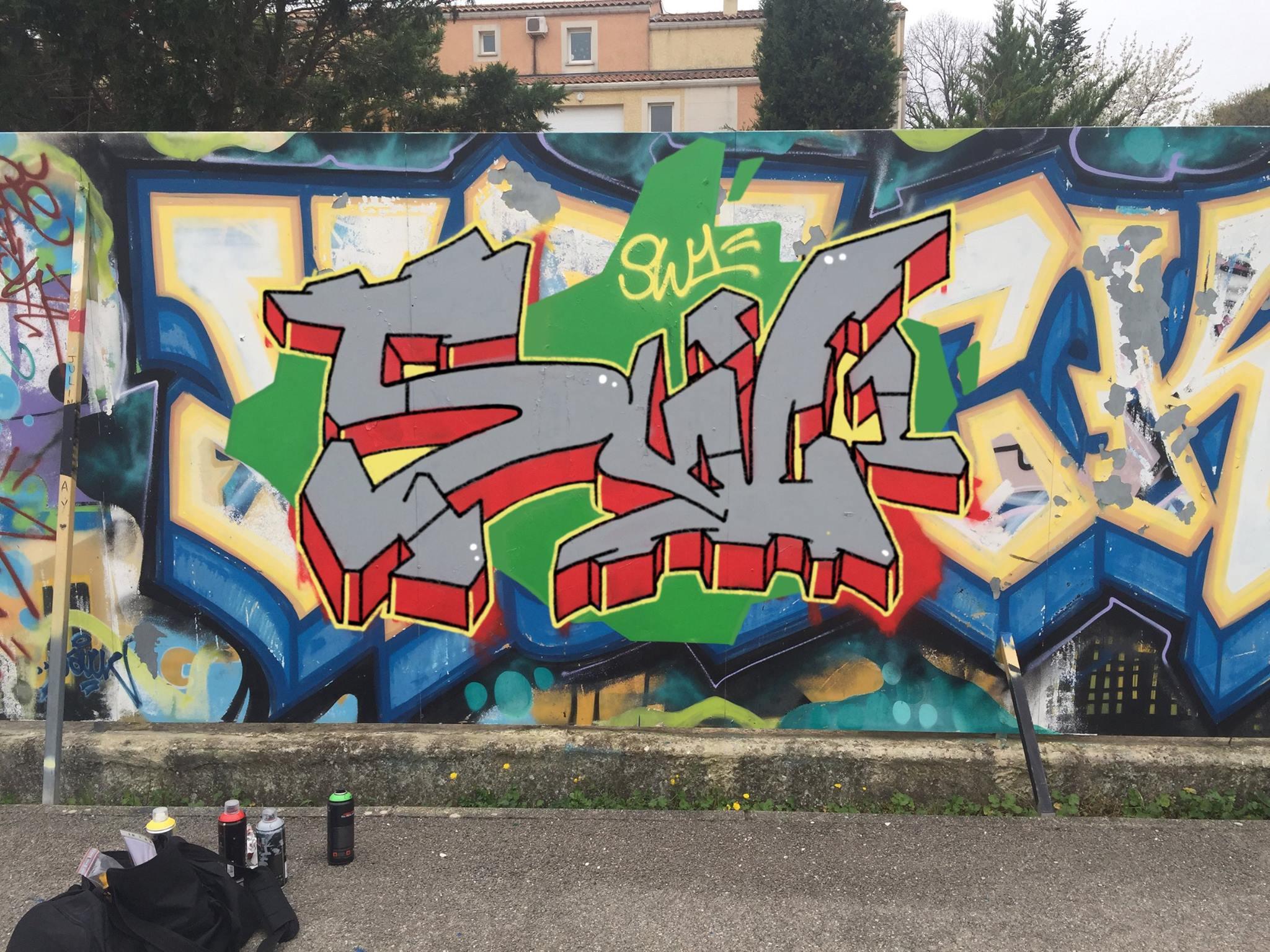 Mon 3ème graffiti