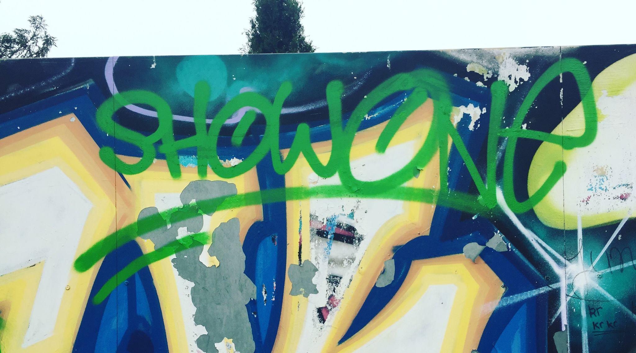 graffiti tag showone