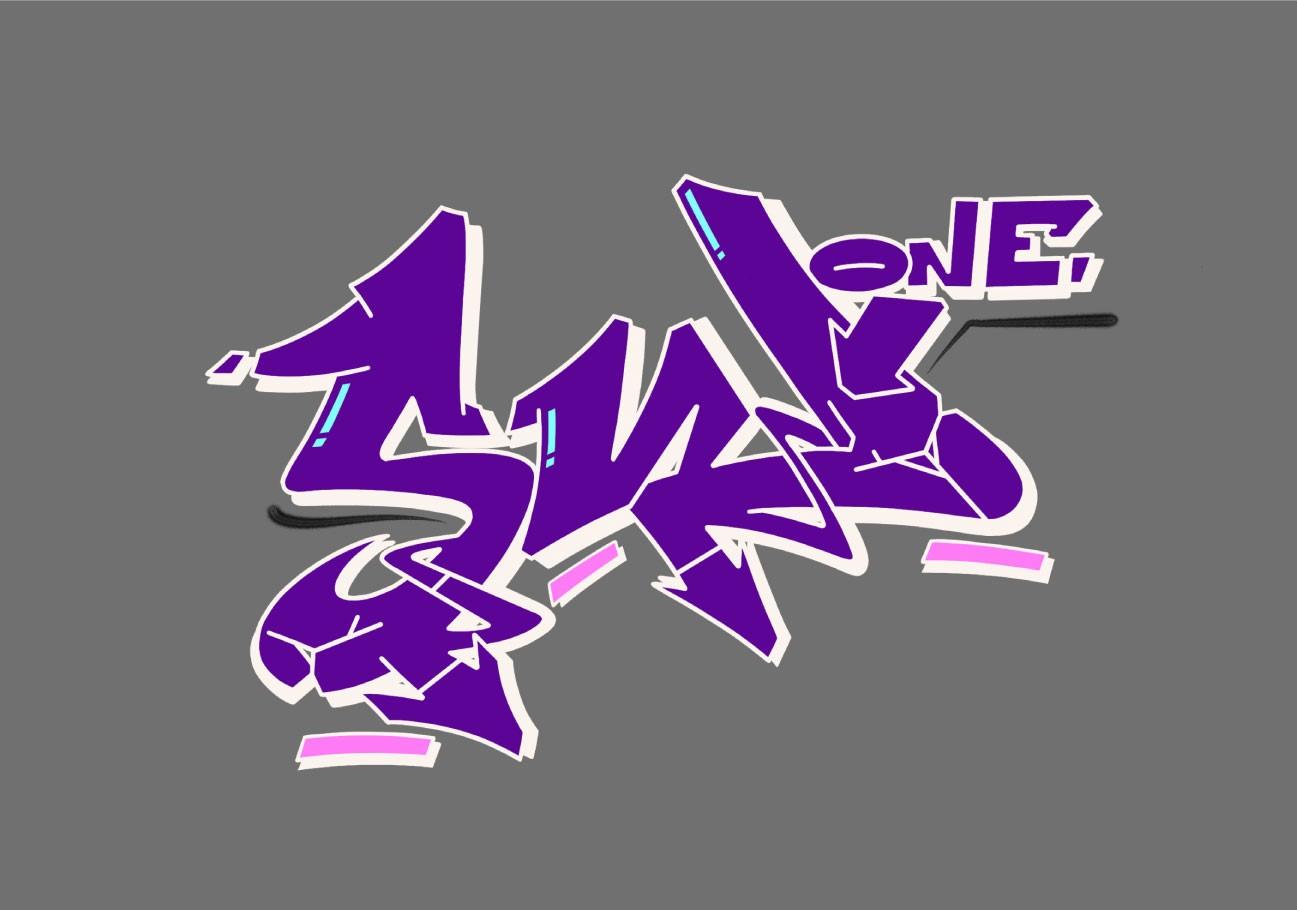 Swone graffiti digital